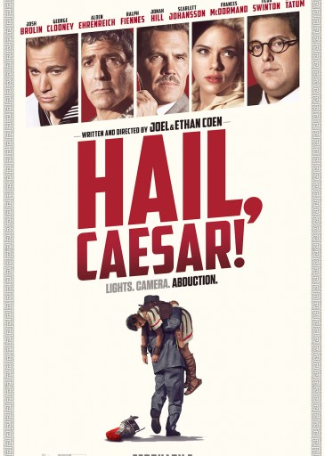 Hail Ceasar Greek Poster Technopolis Multiplex Cinema Heraklion Crete